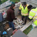 Sara_Khoi_Danny_WorkingOnLayout_NewPumpInstallation_2Mar2015_s_5170