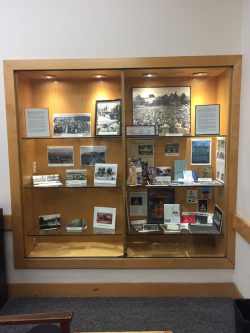 The history exhibit at the Albany Public Library will be up through September.